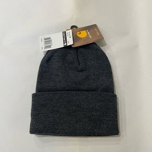 Carhartt Accessories - Cathartt Full Rib Knit Rolled Brim Beanie Hat
